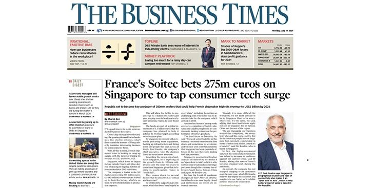 Soitec The Business Time